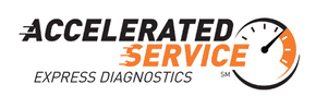 accelerated service logo